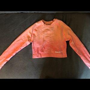 Gymshark women's long sleeve crop top